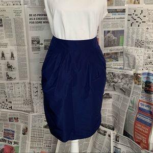 Banana Republic Navy Casual Skirt